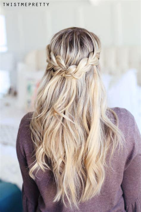 how to do a crown braid 2 ways twist me pretty