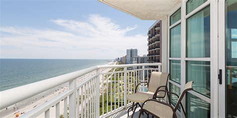 Myrtle 2 Bedroom Suites Oceanfront by Oceanfront Two Bedroom Deluxe Suite Carolinian Resort
