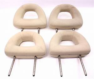 Complete Headrest Head Rest Set 98-05 Vw Beetle