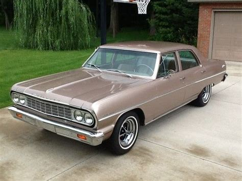 Buy Used 1964 Chevrolet Malibu Base Sedan 4door In New