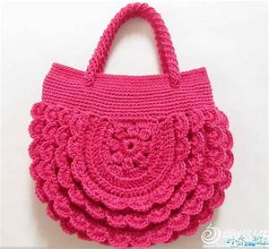 Ergahandmade  Crochet Bag   Diagram   Free Pattern Step By
