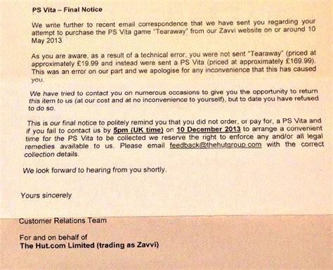 Uk Retailer Zavvi Threatens Customers Who Got Free Ps Vita