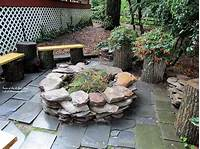 stone fire pit 20 Outdoor Fire Pit Tutorials