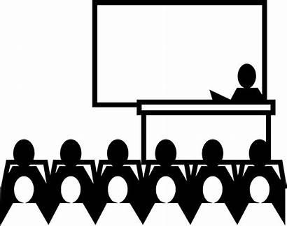 Classroom Teacher Illustration Clipart Student Talking Class
