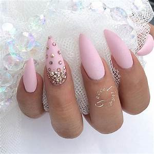 The 25+ best Pink stiletto nails ideas on Pinterest | Nail ...