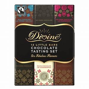 Divine Chocolate 12 Bar Tasting Set - 180g