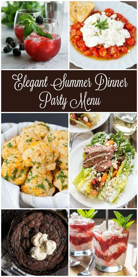 Looking For Inspiration For Your Next Summer Dinner Party