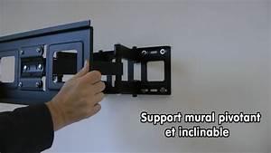Support Mural Tv But : fixer un support mural pour tv tuto support mural sur ~ Melissatoandfro.com Idées de Décoration