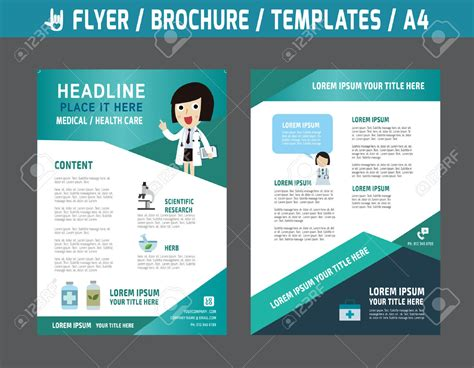 Healthcare Brochure Templates Free by Healthcare Brochure Templates Free 6 Best