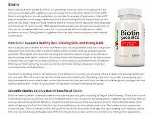 Biotin Hair Growth  Biotin Hair Growth How Long To See