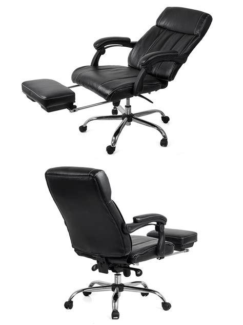 fauteuil de bureau inclinable fauteuil de bureau pivotant inclinable repose pieds