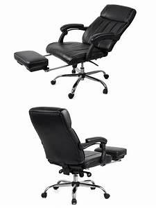 Fauteuil Bureau Conforama : fauteuil de bureau boss pivotant inclinable repose pieds noir conforama ~ Teatrodelosmanantiales.com Idées de Décoration