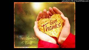 Give thanks With A Grateful Heart (instrumental) - YouTube