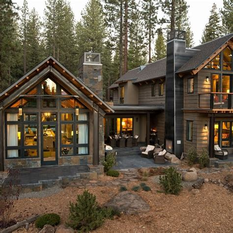 rustic residence exterior designs ideas design