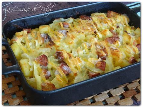 cuisiner la saucisse de morteau gratin de chou saucisse de morteau pommes de terre et