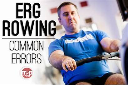 Rowing Erg Concept2 Errors Biggest While Three