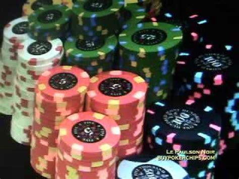 Le Paulson Noir Poker Chips Version 2 Youtube
