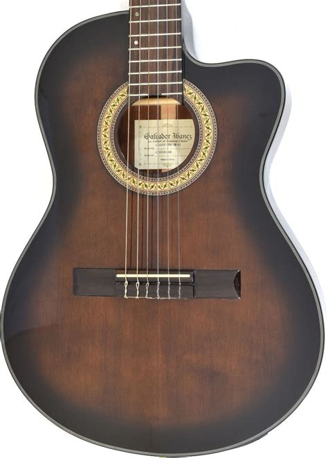 Ibanez GA35TCE Thinline Classical Acoustic Electric Guitar ...