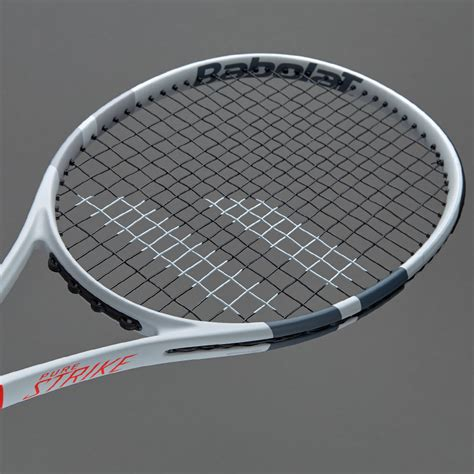 babolat pure strike team white tennis racket