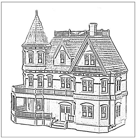 house coloring pages bestofcoloringcom
