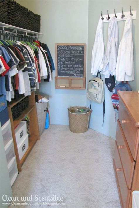 how to organize closets clean and scentsible
