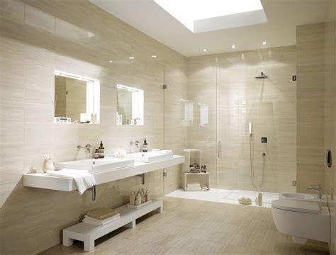 salle de bain beige salle de bain travertin le chic noble de la naturelle