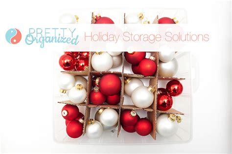 organized holiday christmas decorating ideas for small