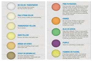 Straw Urine Color Chart