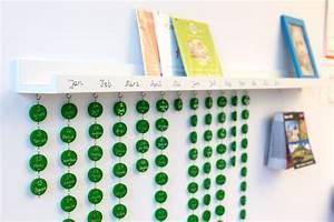 Basteln Mit Fotos : anleitung geburtstagsboard geburtstagskalender selber ~ Lizthompson.info Haus und Dekorationen