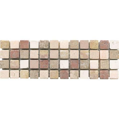 home depot mosaic tile eliane mosaico c 1600 3 in x 8 in x 10 mm