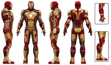 Iron Man Armor Mark Xlii Marvel Database Fandom