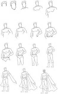How to Draw Super Heroes Step by Step