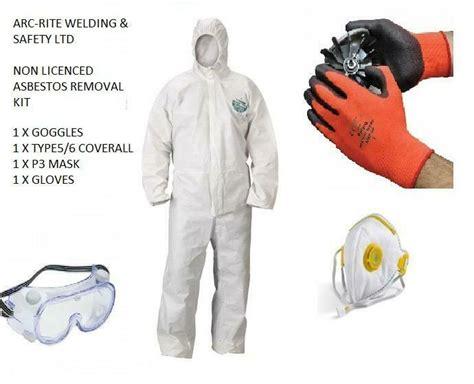 asbestos removal kit ppe safety work kit