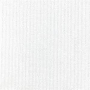 White Minky Chenille Fabric by the Yard White Fabric