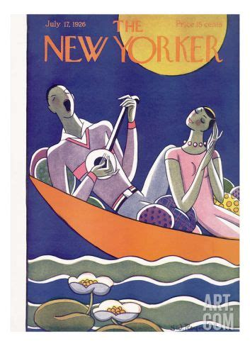 'The New Yorker Cover - July 17, 1926' Premium Giclee ...