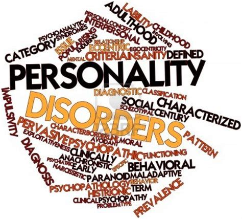 Image Disorder Personality Disorders As If Personality Impulse Ridden