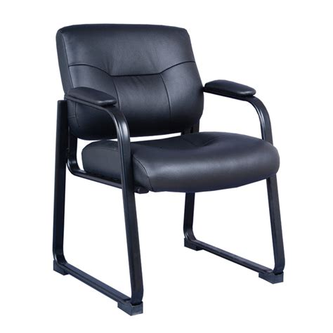 leather guest chair office furniture ez