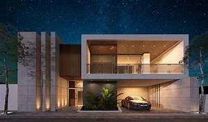 Modern, Elevation, 3d