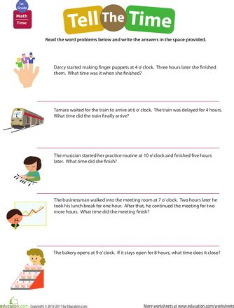 telling time word problems classroom time word