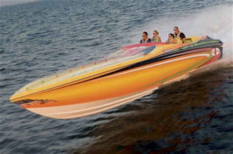 Cigarette Boat Builder by Powerboat Performance Report Cigarette 39 Top Gun