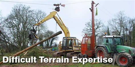what does extensive experience mean forestry contracting d a hughes forestry
