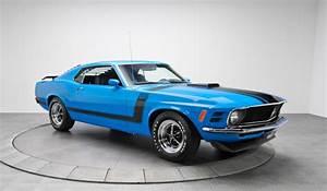 For Sale: 1970 Ford Mustang 302 Boss in Grabber Blue - GTspirit