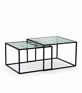 Table Basse Gigogne Verre : tables basses ~ Teatrodelosmanantiales.com Idées de Décoration