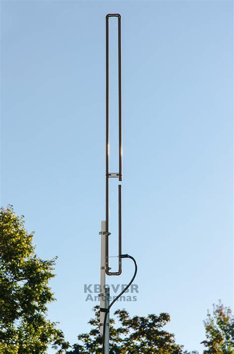 uhf 440 470 mhz slim jim antenna kb9vbr j pole antennas