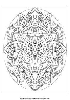 Welcome to Dover Publications   Mandala coloring pages