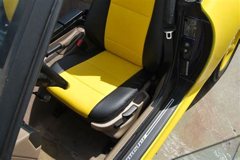 Bmw Z3 19962002 Leatherlike Custom Seat Cover Ebay