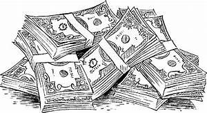 Money clip art 3 2 - Clipartix