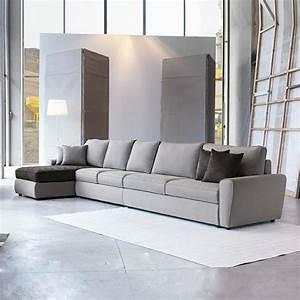 Canape Gris Design Salon Accueil Design Et Mobilier