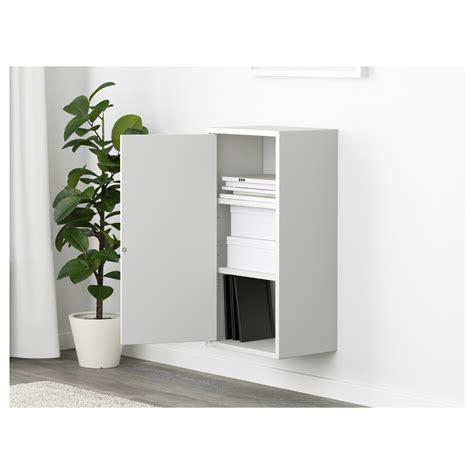 eket cabinet w door and 2 shelves white 35x25x70 cm ikea