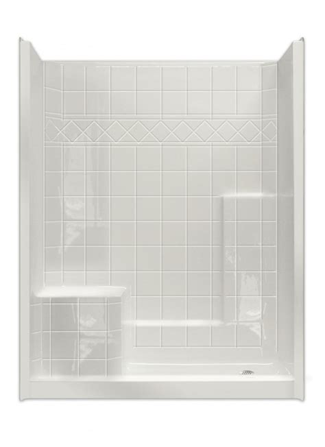 5 Foot Fiberglass Shower by Menards Shower Stalls Tags One Acrylic Stalls Tub